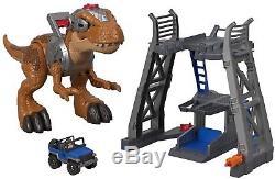 Fisher-Price Imaginext Jurassic World T-Rex Dinosaur Tyrannosaurus Rex park