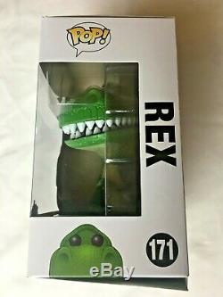 Funko Pop! Disney Pixar Toy Story Rex #171 20th Anniversary T-Rex Dinosaur