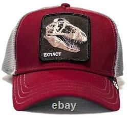 Goorin Animal Farm Trucker Hat Extinct Tyrannosaurus Rex Jurassic T-Rex Dinosaur