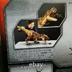 HUGE 24 Jurassic World Battle Damage Dinosaur Super Colossal Tyrannosaurus T Rex