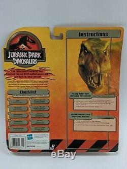 Hasbro Jurassic Park Dinosaurs Young T-Rex & Dinosaur Adventurer NIB