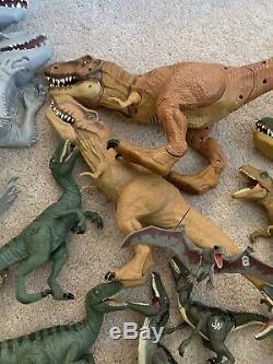 Huge Jurassic World/ Park Dinosaur Lot Indominus Rex Hybrid