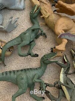 Huge Jurassic World/ Park Dinosaur Lot Indominus Rex Hybrid Indominus T Rex