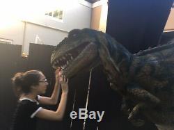 Huge Lifelike Baby T-Rex Dinosaur Costume With Roar and Stomp Waterproof