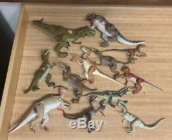 Huge Lot 90s Vintage Kenner JURASSIC PARK JP Dinosaurs Figures 30+ T-Rex Raptor