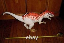 Hybrid Indominus Rex Dinosaur Jurassic World JW Dino 22 Figure Roars 2016 read