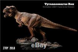 ITOY Dinosaur Model Tyrannosaurus Rex PVC toy T. Rex Jurassic Park Jurassic World