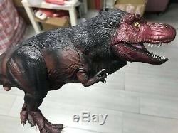 IVS Dinosaurs in the Wild Feather T-REX Plastic Toy Model Action Figure Rare