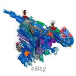 Imaginext Ultra T-Rex Walking & Roaring Dinosaur Blue! Fisher-Price NEW