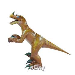 Inflatable Dinosaur Costume Adult Velociraptor t-rex Halloween Dinosaur Cosplay