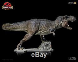 JURASSIC PARK T-Rex Art Scale 1/10 Iron Studios Statue Dinosaur from 1993 Movie
