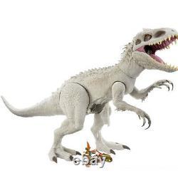 JURASSIC WORLD Super Colossal Indominus Rex T-REX And Brachiosaurus DINOSAURS X2