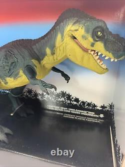 Jurassic Park 1994 Young T-Rex Tyannosaurus Rex Damage Wound WithCard Box CIB
