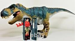 Jurassic Park 1997 Lost World Bull Tyrannosaurus Rex T-Rex COMPLETE Beautiful