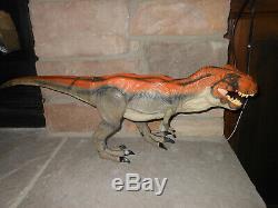 Jurassic Park 2009 Electronic Tyrannosaurus rex T. Rex WORKS dinosaur figure