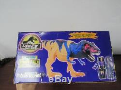 Jurassic Park Chaos Effect Electronic Omega T-Rex Tyrannosaurus Rex Kenner 53B