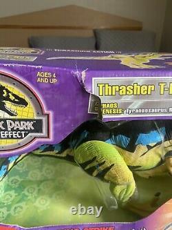 Jurassic Park Chaos Effect Thrasher T-Rex CIB (RARE)