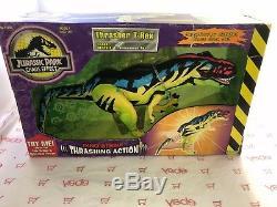 Jurassic Park Chaos Effect Thrasher T-Rex Dino-Strike Thrashing Action