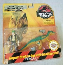 Jurassic Park Dinosaurs Young T-Rex and Dinosaur Adventurer