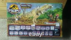 Jurassic Park Kenner Dinosaur Toy, site B, Dino strike Thrasher T-Rex