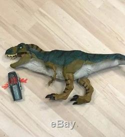 Jurassic Park Lost World Electronic Bull T-Rex JP28 Dinosaur with Pod Complete