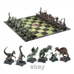 Jurassic Park Movie Dinosaur Chess Set Brand New T-rex Raptor Pterodactyl Compy