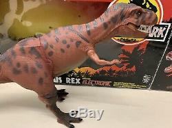 Jurassic Park T-rex Original Large Dinosaur Boxed Action Figure 1993 Kenner