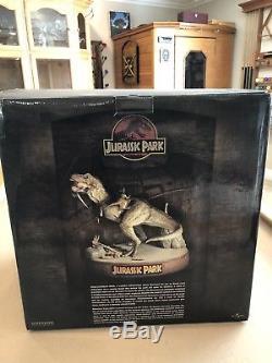 Jurassic Park When Dinosaurs Ruled Statue T Rex Sideshow Diorama