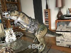 Jurassic Park /world T Rex Thrasher Bull Dinosaur Only With Capture Gear