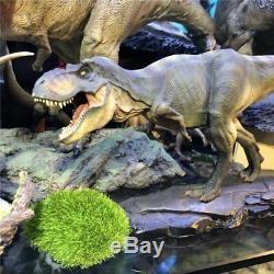 Jurassic World 1/35 Dino King Tyrannosaurus Rex T-Rex Dinosaur PVC Resin Statue