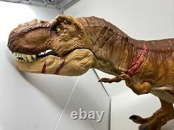 Jurassic World 42 Super Colossal Tyrannosaurus Rex T Rex Big Figure 2017 Mattel