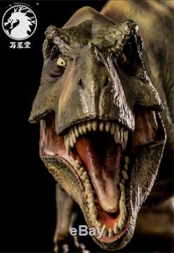 Jurassic World Dino King 1/35 Tyrannosaurus Rex T-Rex Dinosaur Resin PVC Statue