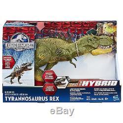 Jurassic World Hybrid FX TYRANNOSAURUS T REX Dinosaur 40cm ROARING ACTION SOUND
