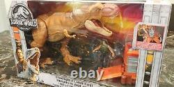 Jurassic World Park Destruct-a-Saurs T-Rex Ambush playset