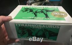 Kaiyodo Dinoland Tyrannosaurus rex T-rex Dinosaur soft vinyl model kit 1/35