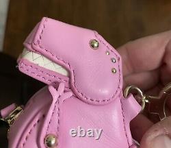 Kate Spade Pink T-rex Dinosaur Coin Purse Bag Keychain Whimsical