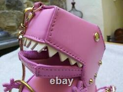 Kate Spade T-Rex Dinosaur Cross Body Handbag Purse XLNT! Many Photos