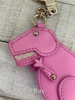 Kate Spade T-rex Dinosaur Keychain Key Fob
