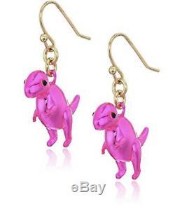 Kate Spade Whimsies T-rex Dinosaur Earrings Wbrud365