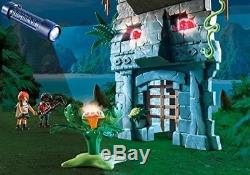 Kids Playmobil T Rex Building Toy Play Set Boy Gift Glow In Dark Dinosaur New