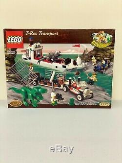 LEGORARE Adventurers Dino Island T-Rex Transport (5975) New Sealed