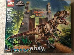LEGO 6250531 Jurassic Park T. Rex Rampage Play Set Dinosaur Legos