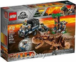 LEGO 75929 Jurassic Park World Carnotaurus Gyrosphere Escape Trex NIB Sealed