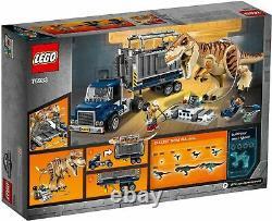 LEGO 75933 Jurassic World T Rex Transport Brand New In Box Retired Set