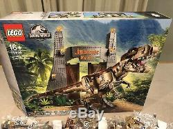 LEGO 75936 JURASSIC PARK T Rex Rampage DINO & GATE ONLY NO MINIFIGURES FREE P&P