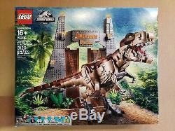 LEGO 75936 Jurassic Park T. Rex Rampage Building Kit (3120 pcs)