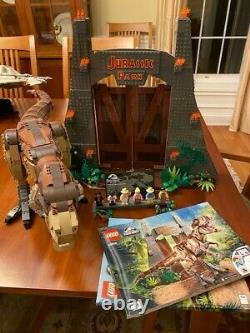 LEGO 75936 Jurassic Park T. Rex Rampage Play Set