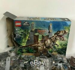 LEGO 75936 Jurassic World Jurassic Park T Rex Rampage Build Kit (Damaged Box)