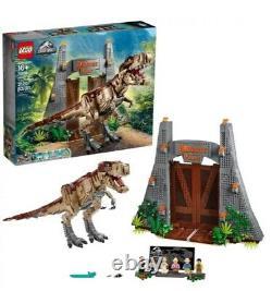LEGO 75936 Jurassic World Jurassic Park T. Rex Rampage Building Kit
