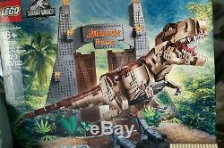 LEGO 75936 T. Rex Rampage -GATE & minifigures ONLY/ with instructions ALL Sealed